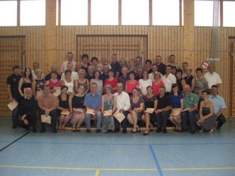 Abnahme des Deutschen Tanzsportabzeichens (DTSA)