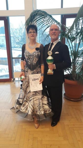 1. Platz im Turnier und 2. Platz Thüringen Trophy SEN III A