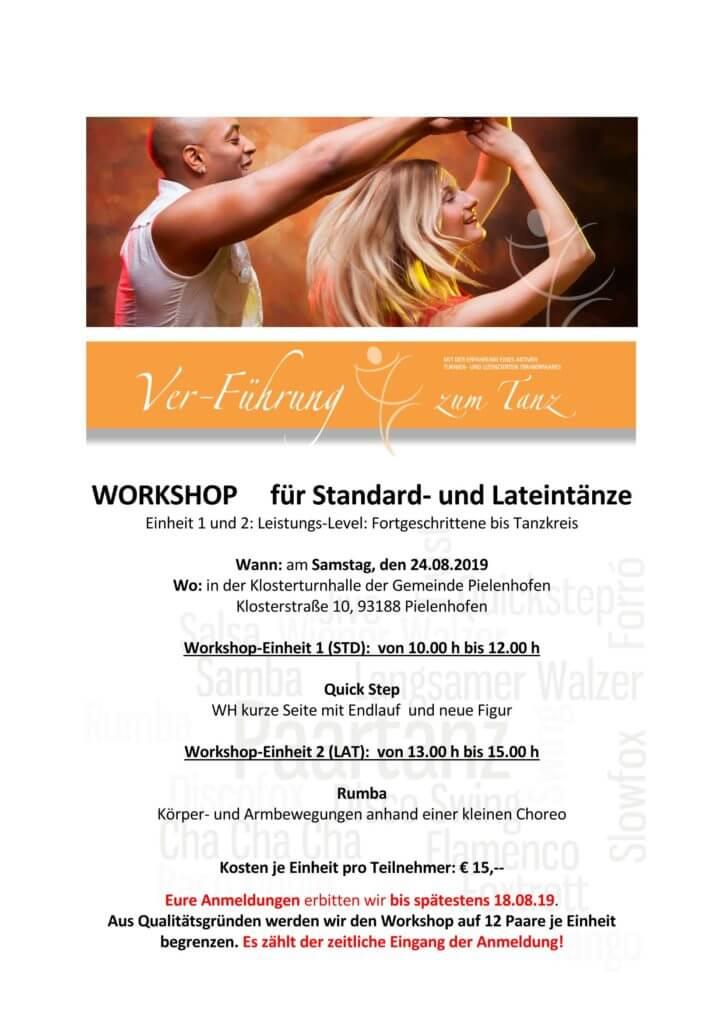 Workshop für Standard- und Lateintänze